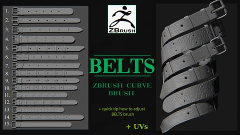 Belts brush