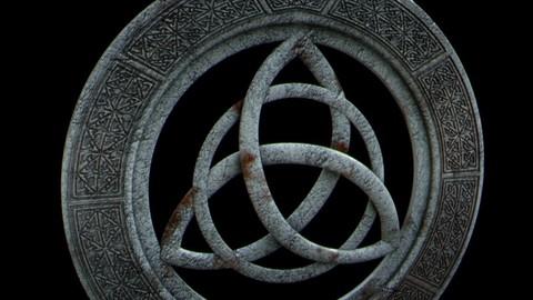 Viking triquetra pendant
