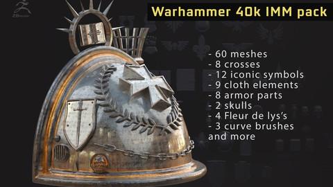 Warhammer 40k IMM brushpack