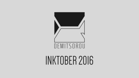 Inktober 2016 Digital Artbook