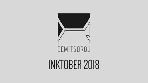 Inktober 2018 Digital Artbook