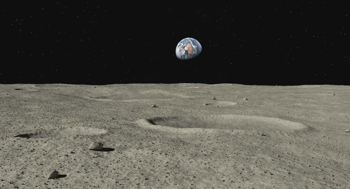 ArtStation - Moon Surface | Resources