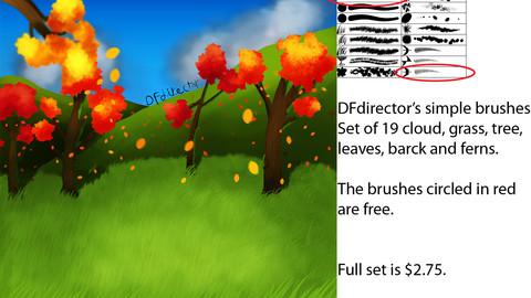 DF Simple Nature Brushes Ver 1 (CS5+)