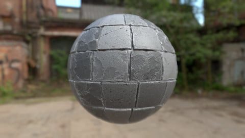 Tile Stone Material - Substance Designer