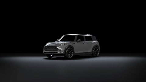 Mini Clubman for Vray in 3ds Max