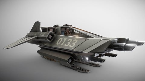 LAC - Light Assault Craft - Fighter & Cockpit
