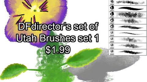DF Utah Brushes Ver 1 (CS5+)