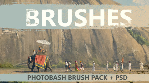 PHOTOBASH - BRUSH PACK