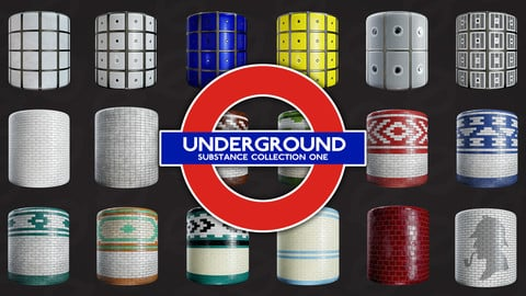 London Underground: Substance Collection 1