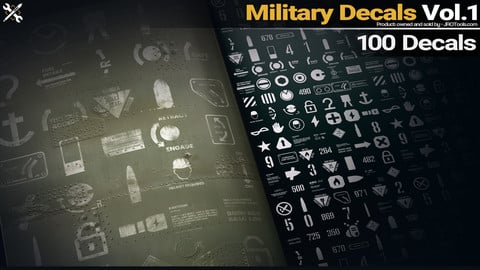 Military Decals Vol.1