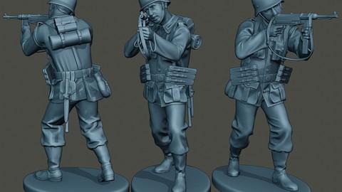 German soldier ww2 Shoot Stand G2