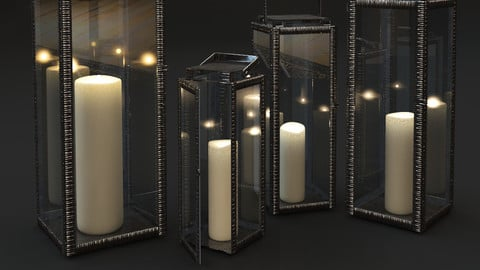 Candlesticks Amalfi Lantern