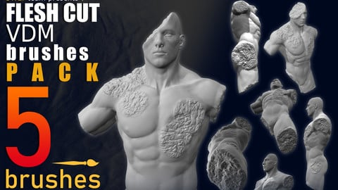 FLESH CUTS - VDM BRUSH PACK - 1024x1024