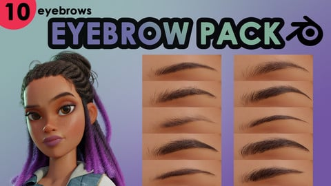 Eyebrow Pack (Blender)
