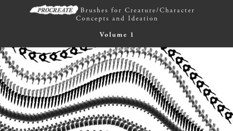 31 Custom Bone Brushes for Procreate