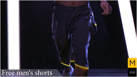 Free men's shorts. Clo3d, Marvelous Designer.༼ つ ◕_◕ ༽つ