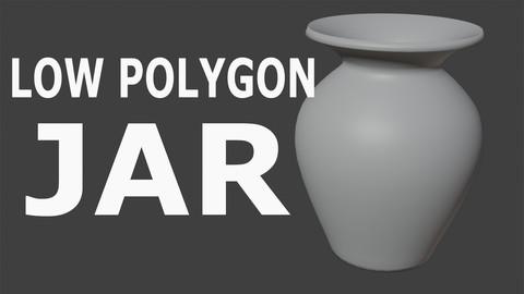 Lowpoligon Jar (obj)