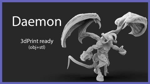 Daemon 3d Print Ready
