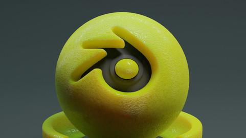 Lemon Material Cycles + EEVEE