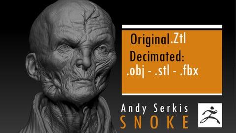 Andy Serkis - Supreme Leader Snoke - Star Wars
