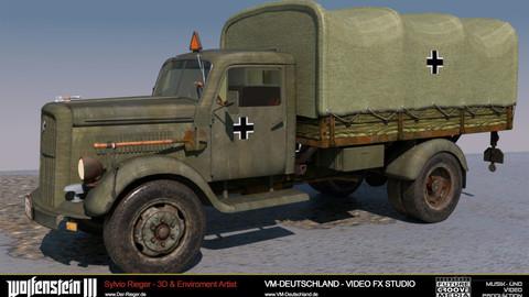 Opel Blitz, Wehrmacht, Zweiter Weltkrieg