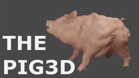THE PIG 3D