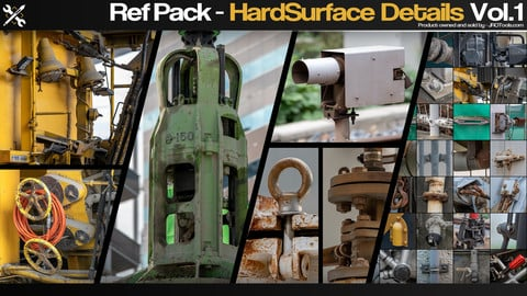 Ref Pack - HardSurface Details Vol.1