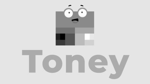 Toney the Palette 🎨 - Value and tone mascot for better painting. (Early release🐣)