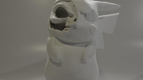 Pikachu Skeleton V1.0