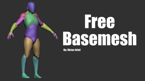 Free Basemesh - Male