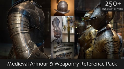 Medieval Armour & Weaponry Reference Pack