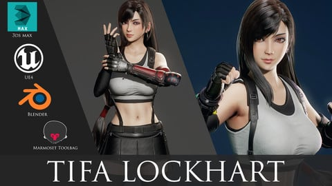 Tifa Lockhart - Game Ready