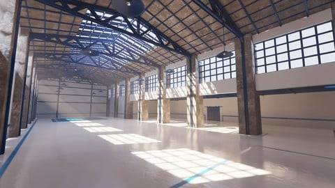 SHC Renovated Factory hall