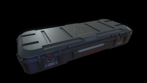 Sci-fi military Container Tocxik