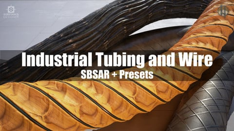 Industrial Tubing/Wiring Substance