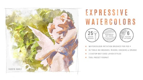 Expressive Watercolours for PS CS5+