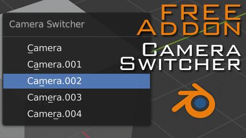 Camera Switcher for Blender
