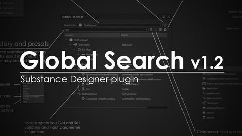 Global Search v1.2.1 plugin for Substance Designer