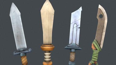 Stylized sword set