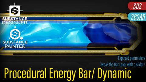 Procedural Energy Bar with Dynamic control