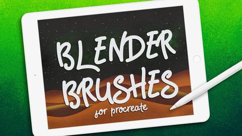 Procreate Brushes BLENDER BRUSH SET