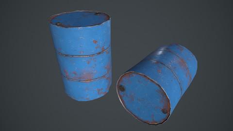 Metal Barrel PBR