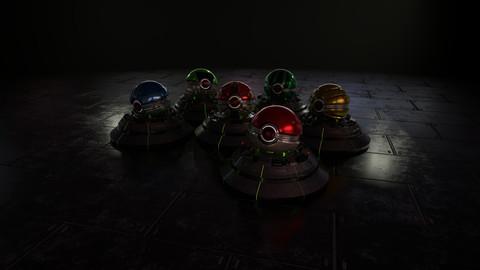 Sci-fi Pokeball
