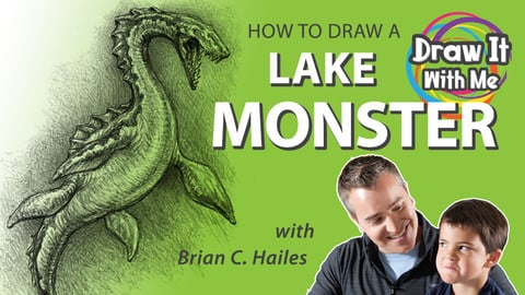 How to Draw a Lake Monster