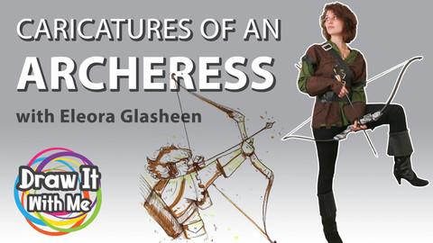 Caricatures of an Archeress