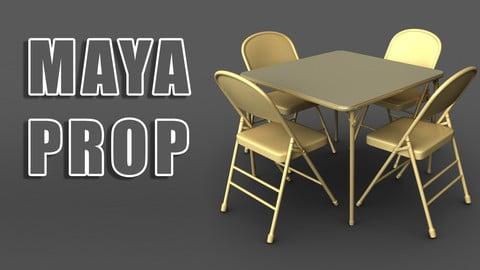 Maya Table and Chairs