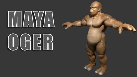 Maya Oger Character