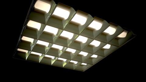 fluorescent,ceiling