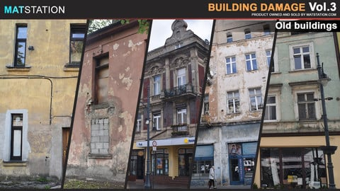 Photo Pack - Building Damage - Vol.3