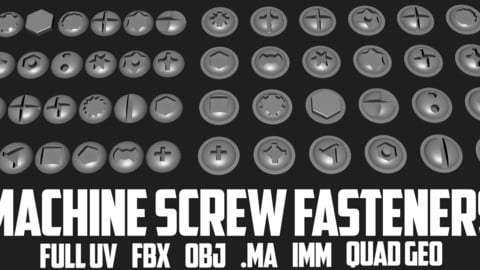 Screw Heads-Machine Fasteners